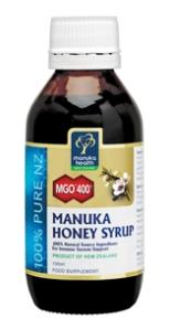 Manuka hostesirup